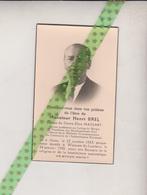 Henri Brel-Massart, Moen 1883, Woluwe-St.-Lambert 1958. Leraar Professeur Sint-Michel, Fondateur Oprichter Firma Et. Bre - Avvisi Di Necrologio
