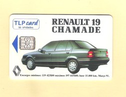 """PHONECARD - PORTUGAL """"RENAULT 19 CHAMADE"""" LP31 - USED - Portugal"""