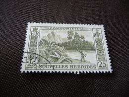 TIMBRE   NOUVELLES-HÉBRIDES    N  179        COTE 1,40  EUROS   OBLITÉRÉ - French Legend