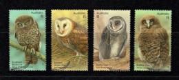 Australia 2016 Owls Set Of 4 Used - 2010-... Elizabeth II