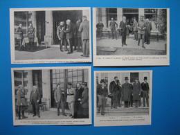 (1920) La Conférence De Spa - Château De La Fraineuse (lot De 7 Documents) - Non Classés