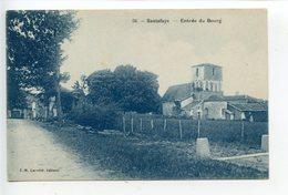 Hautefaye L'entrée Du Bourg - France