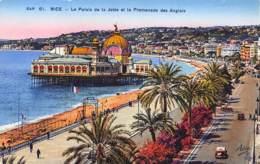 06 - NICE - Le Palais De La Jetée Et La Promenade Des Anglais - Panorama's