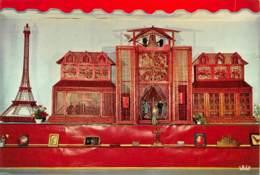 CPM - BIERBEEK - Astronomisch - Folkoristisch - Historisch Kunstuurwerk, Vervaardigd Uit 1.200.000 Lucifers - Bierbeek