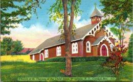 New York Catskills Windham Church Of St Theresa Of The Child Jesus - Catskills