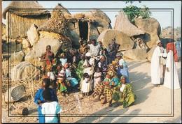 °°° 19027 - CAMEROUN CAMERUN - A L'ENTREE D0UN SARE MOFOU - 2007 With Stamps °°° - Camerun