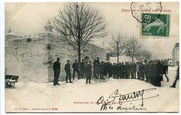 CPA 1911 * Semaine D'Hiver Des Vosges ( Gérardmer ) Habitation En Neige Militaires 12e Cie 152e Régiment D'Infanterie - Gerardmer