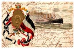 Kaiser Wilhelm II , Nordeutschet Lloyd Bremen French  Line - Steamers