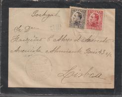 CARTA CIRCULADA DE ESPANHA PARA PORTUGAL - 1872-73 Königreich: Amédée I.