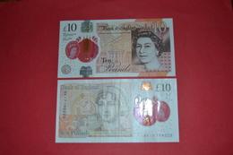 UNITED KINGDOM - Great Britain 10 Pounds 2016 Pk 395 - CIRCULATED - 1952-… : Elizabeth II