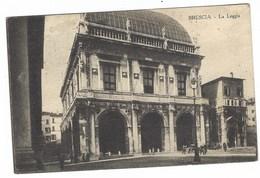4116 - BRESCIA LA LOGGIA ANIMATA 1928 - Brescia