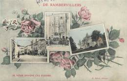 """CPA FRANCE 88 """"Rambervillers, Vues"""" - Rambervillers"""