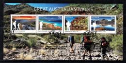Australia 2015 Great Walks Minisheet Used - Used Stamps
