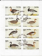 Bloc Oies Oman Oblitéré - Gänsevögel