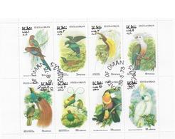 Bloc  Oiseaux Oman Oblitéré - Sonstige
