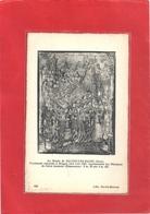 AU MUSEE DE SALINS-LES-BAINS . TAPISSERIE EXECUTEE A BRUGES VERS L'AN 1501 REPRESENTANT LES OBSEQUES DE St ANATOILE - Autres Communes