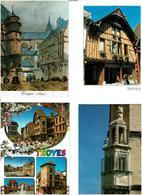 10 / TROYES /  Lot De 70 Cartes Postales Modernes écrites - Cartes Postales