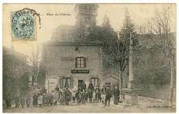 2462-30 - CORNILLON  -  Place Du Chateau -  Café Bartholin - - Autres Communes