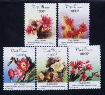Vietnam Viet Nam MNH Perf Withdrawn Stamps 2002 : Cacti (Ms879) - Vietnam