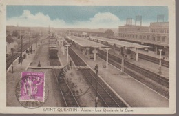 SAINT QUENTIN- LA GARE - Saint Quentin