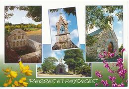 YFFINIAC (Cotes-d'Armor.22) Multivues. Chapelle Saint Laurent. Fontaine Des Septs Saints - Altri Comuni