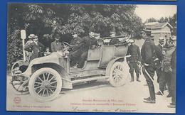 Le Généraux Française En Automobile à  Brienne Le Château   Animées    écrite En 1906 - Characters