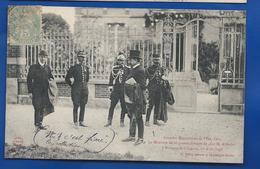 Le Ministre De La Guerre à  Brienne Le Château   Animées    écrite En 1906 - Characters