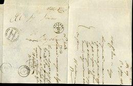 301 1862 LETTERA DA PESCHIERA D'ISEO A BAGOLINO VIA SULZANO - 1861-78 Vittorio Emanuele II