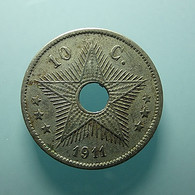 Belgian Congo 10 Centimes 1911 - 1910-1934: Alberto I