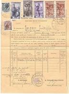SEVIZIO DELLE RISCOSSIONI ACCIANO L'AQUILA - 1946-60: Marcophilia