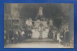 Carte Photo  TROUVILLE-EN-BARROIS    Communion    Localisation: Quincaillerie J.Varinot - Other Municipalities
