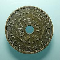 Rhodesia And Nyasaland 1 Penny 1958 - Rhodesia