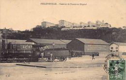 PHILIPPEVILLE Skikda - Locomotive - Caserne De France Et Hôpital - Skikda (Philippeville)