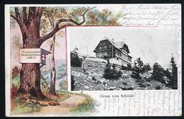 AK/CP Gruss Vom Schöckl Stubenberghaus Radegund  Gel/circ.  1902   Erhaltung/Cond. 2-  Nr. 00948 - Other