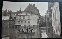 25 - BESANCON - Hotel Des Messageries   Les Innondations De 1910 - Carte Photo - Innondation - Doubs - Besancon