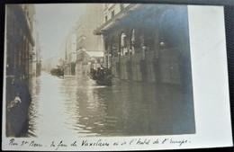 25 - BESANCON -Rue St Pierre   Les Innondations De 1910 - Carte Photo - Innondation - Doubs - Besancon