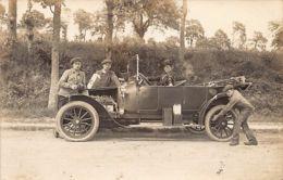 GENT (O. Vl.) Automobile - Carte Photo Photographie Franco-Belge, 15 Rue De Ledeganck - Gent