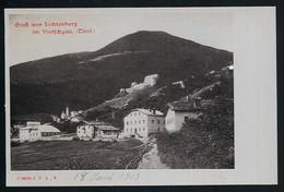 AK/CP Lichtenberg Vintschgau  Tirol  Trentino Alto    Ungel/uncirc. Um  1900  Erhaltung/Cond. 1-  Nr. 00952 - Unclassified