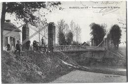 MAREUIL SUR AY : PONT SUSPENDU - Mareuil-sur-Ay