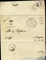 304 1863 LETTERA DA COLLIO PER BRESCIA - 1861-78 Vittorio Emanuele II