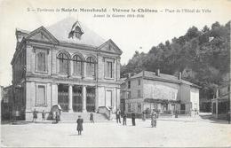 SAINTE MENEHOULD : PLACE DE L'HOTEL DE VILLE - Sainte-Menehould