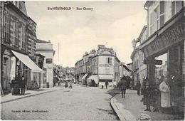 SAINTE MENEHOULD : RUE CHANZY - Sainte-Menehould
