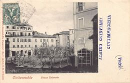 CIVITAVECCHIA (RM) Piazza Calamatta - Civitavecchia