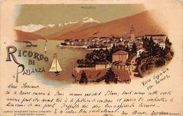 PALLANZA (VB) Ricordo Di - Cartoline Litho - Ed. E. Schlumpf - Autres Villes
