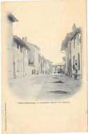 SAINTE MENEHOULD : ANCIENNES MAISONS DU CHATEAU - Sainte-Menehould