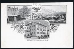 AK/CP Schlanders Vintschgau  Tirol  Trentino Alto  Silandro  Bolzano  Ungel/uncirc 1900  Erhaltung/Cond. 1-/2  Nr. 00954 - Bolzano (Bozen)