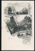 AK/CP Valzarego Pass  Andraz   Tirol  Trentino Alto   Bolzano  Ungel/uncirc 1903  Erhaltung/Cond. 1-  Nr. 00956 - Bolzano (Bozen)