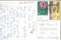 China 574, 754 Auf Ansichtskarte - Used Stamps