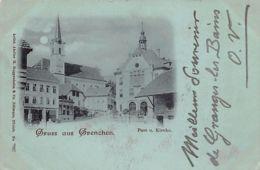 GRENCHEN (SO) - Post U. Kirche - SO Solothurn
