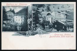 AK/CP  Gasthaus Alpenrose  Andraz Buchenstein    Tirol  Trentino Alto  Ungel/uncirc 1903  Erhaltung/Cond. 1-  Nr. 00957 - Bolzano (Bozen)